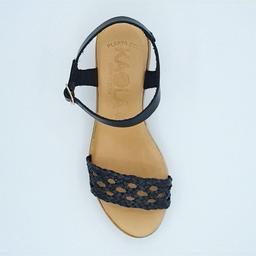 Sandales à talons kaola noires
